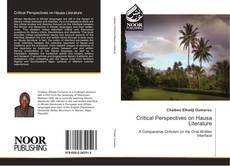 Couverture de Critical Perspectives on Hausa Literature