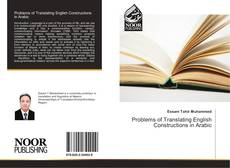 Bookcover of Problems of Translating English Constructions in Arabic