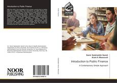 Bookcover of Introduction to Public Finance