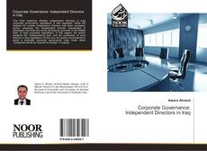 Bookcover of Corporate Governance: Independent Directors in Iraq