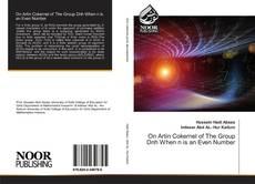 Bookcover of On Artin Cokernel of The Group Dnh When n is an Even Number