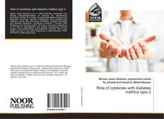 Bookcover of Role of cytokines with diabetes mellitus type 2