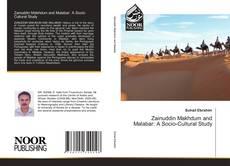 Portada del libro de Zainuddin Makhdum and Malabar: A Socio-Cultural Study