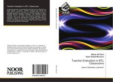 Capa do livro de Teacher Evaluation in EFL Classrooms