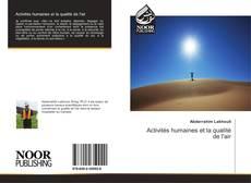 Bookcover of Activités humaines et la qualité de l'air