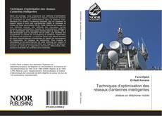 Bookcover of Techniques d'optimisation des réseaux d'antennes intelligentes
