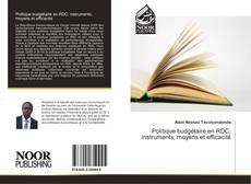 Capa do livro de Politique budgétaire en RDC: instruments, moyens et efficacité