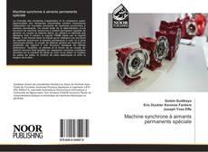 Bookcover of Machine synchrone à aimants permanents spéciale