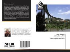 Bookcover of Béton précontraint