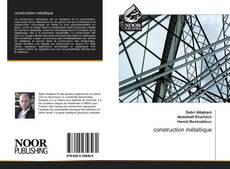construction métallique kitap kapağı