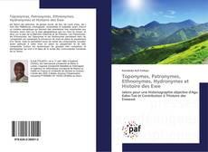 Borítókép a  Toponymes, Patronymes, Ethnonymes, Hydronymes et Histoire des Ewe - hoz