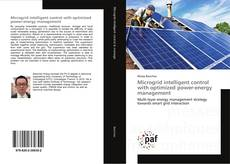 Bookcover of Microgrid intelligent control with optimized power-energy management