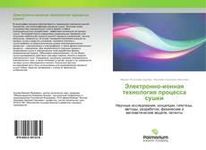 Обложка Электронно-ионная технология процесса сушки