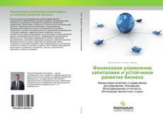 Обложка Финансовое управление капиталами и устойчивое развитие бизнеса