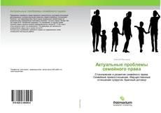 Обложка Актуальные проблемы семейного права