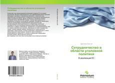 Bookcover of Сотрудничество в области уголовной политики