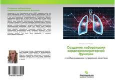 Обложка Создание лаборатории кардиореспираторной функции