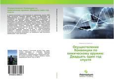 Bookcover of Осуществление Конвенции по химическому оружию: Двадцать один год спустя