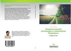 Couverture de Энергетический потенциал и технологии биомассы