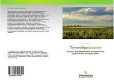 Buchcover von Почвообразование