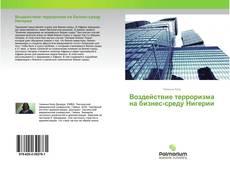Capa do livro de Воздействие терроризма на бизнес-среду Нигерии