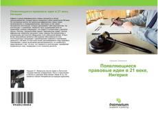 Bookcover of Появляющиеся правовые идеи в 21 веке, Нигерия