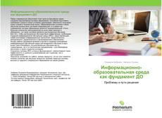 Информационно-образовательная среда как фундамент ДО kitap kapağı