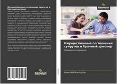 Bookcover of Имущественные соглашения супругов и брачный договор