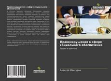 Buchcover von Правонарушения в сфере социального обеспечения