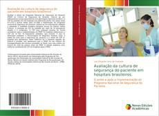 Capa do livro de Avaliação da cultura de segurança do paciente em hospitais brasileiros