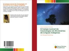 Buchcover von O Campo Lexical da Cosmologia em Dicionários de Línguas Indígenas