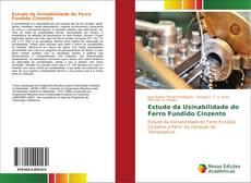 Capa do livro de Estudo da Usinabilidade do Ferro Fundido Cinzento