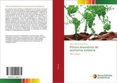 Couverture de Fóruns brasileiros de economia solidária