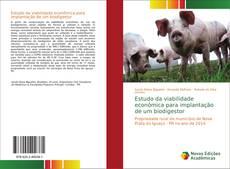 Capa do livro de Estudo da viabilidade econômica para implantação de um biodigestor