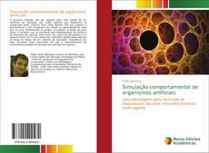 Capa do livro de Simulação comportamental de organismos artificiais