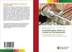 Bookcover of Considerações Sobre os Custos no Torneamento