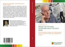 Capa do livro de Design da interação multimodal para a terceira idade