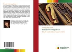 Bookcover of Frases Interrogativas