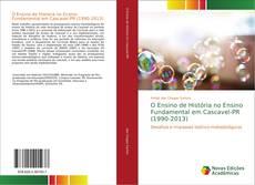 Portada del libro de O Ensino de História no Ensino Fundamental em Cascavel-PR (1990-2013)