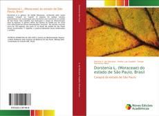 Capa do livro de Dorstenia L. (Moraceae) do estado de São Paulo, Brasil