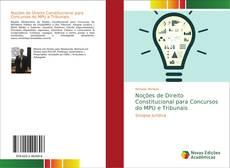 Capa do livro de Noções de Direito Constitucional para Concursos do MPU e Tribunais