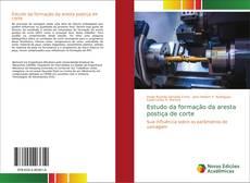 Capa do livro de Estudo da formação da aresta postiça de corte