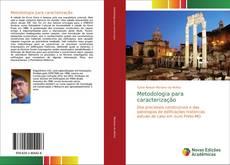 Copertina di Metodologia para caracterização