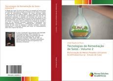 Tecnologias de Remediação de Solos - Volume 2 kitap kapağı