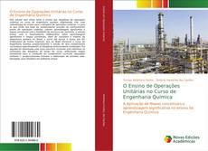 Capa do livro de O Ensino de Operações Unitárias no Curso de Engenharia Química