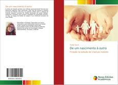 Capa do livro de De um nascimento à outro