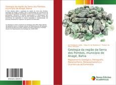 Capa do livro de Geologia da região da Serra dos Pombos, município de Anagé, Bahia