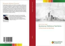 Capa do livro de Economia, Politica e Território