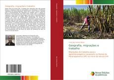 Capa do livro de Geografia, migrações e trabalho