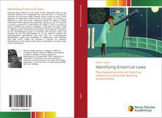 Capa do livro de Identifying Empirical Laws
